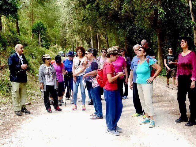 רמות מנשה, מרכז קדם לטיולים